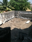 Courtyard where slaves cooked and exercised.