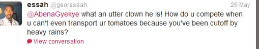 george tomatoes