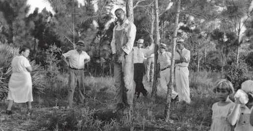 The lynching of Rubin Stacy