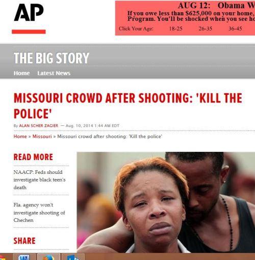 AP kill police
