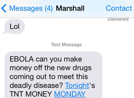 Ebola Money
