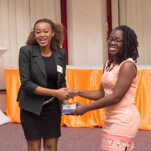 Edith Faalong received our award on our behalf last year.