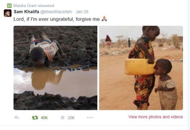 poor africans