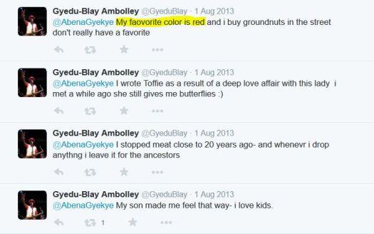 Ambolley answers