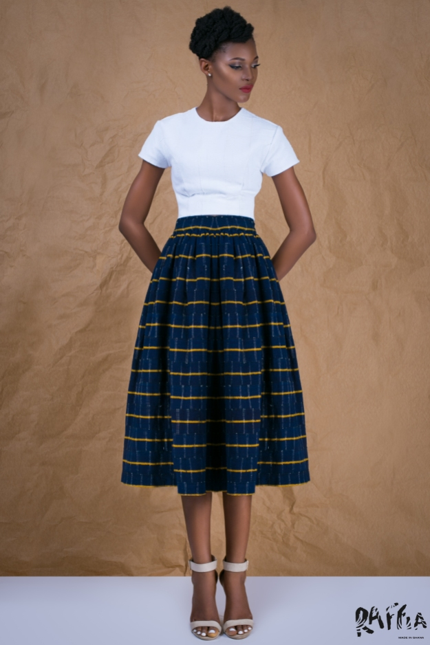 A skirt from the upcoming collection