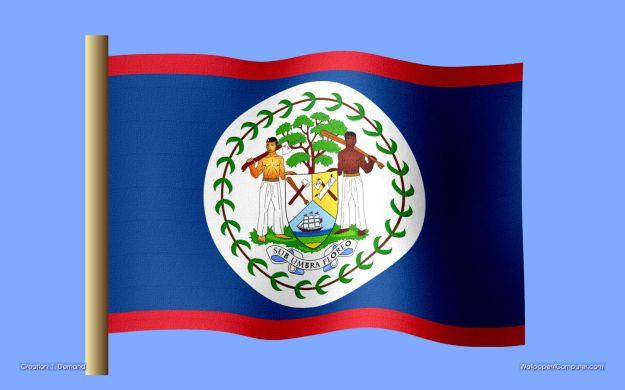 """The Belizean flag was such a surpise to me. A Black man, tall and strong...on a FLAG? How!?  They don't put """"slaves"""" on flags and offer them the benefit of dignity, do they? I didn't think so."""