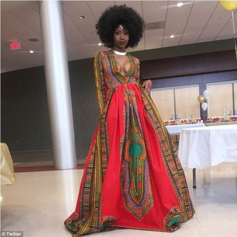 "Bullied for her looks, Kyemah McEntyre claps back at critics for her ""African looks"" by embracing her heritage and showing up at prom looking like 150% pure African ethereal royalty!"
