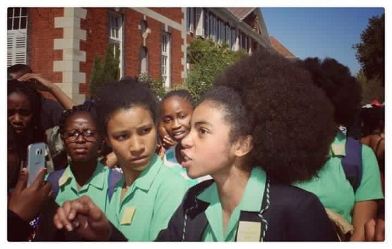 Pretoria High Students protest racist hair policies