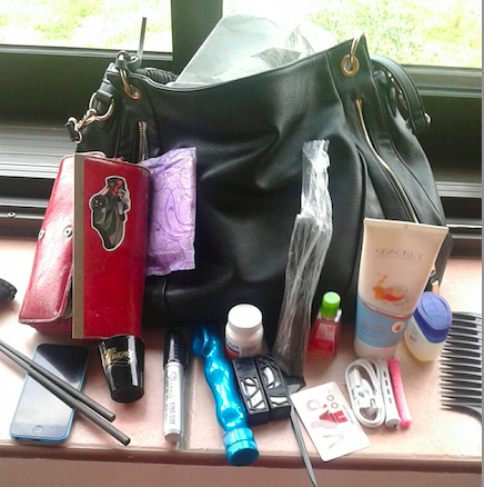 A sampling of the many items in my bag.