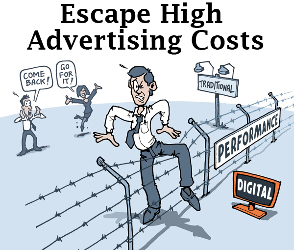 Costs of advertising?